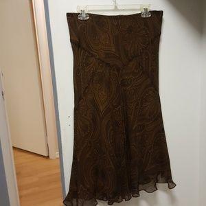 Ralph Lauren Adorable Silk Skirt